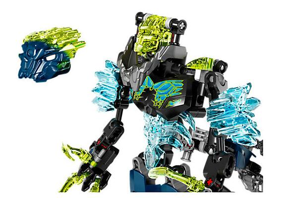 KSZ 613-3 Biochemical Warrior Bionicle Storm Beast Building Block Toys Compatible With Legoings Bionicle 71314