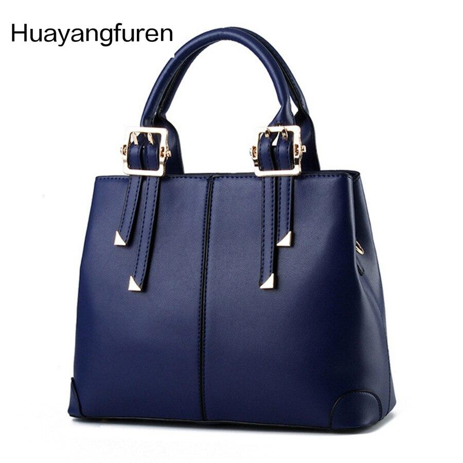 2017 Women PU Leather Handbag Casual Women Messenger Bags European And American Style  Ladies Crossbody Shoulder Bag Tote Q5