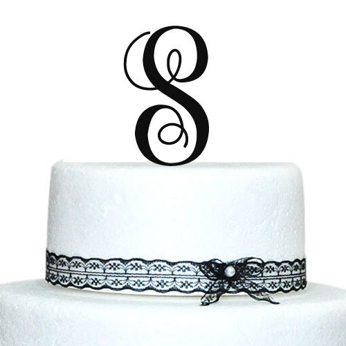 monogram letter cake toppers wedding cakes monogram cake toppers unique wedding cake toppers vintage 17513