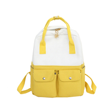 Canvas Backpack Women School Bags Female Backpacks for Teenage Girls Fashion Travel Notebook Back pack Bag mochilas mujer 2018 цена в Москве и Питере