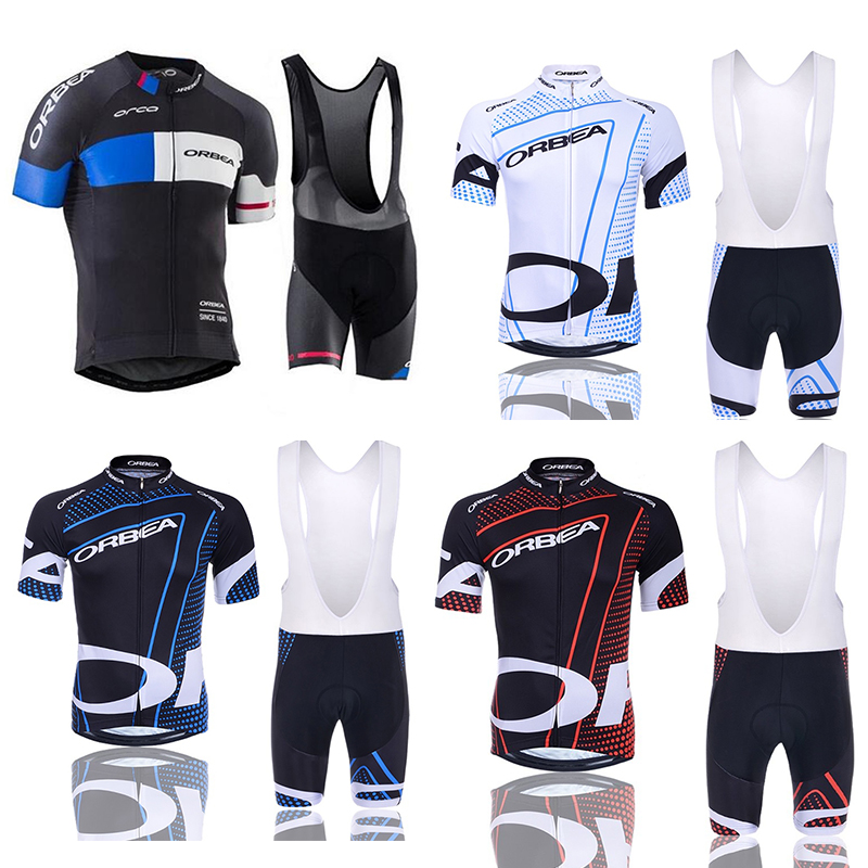 2017 Team 5 Colors ORBEA Cycling Jersey Set Short Ropa De Ciclismo Maillot Ciclismo Ropa Bike Wear 9D Gel Pad  цена