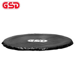 GSD okrągły ochrona przed niekorzystnymi warunkami pogodowymi  osłona przeciwdeszczowa (wiatr i deszcz) wodoodporna mata dla okładka trampolina