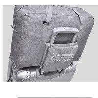 Large Capacity Waterproof Folding Luggage Bag Multi Functional Storage Travel Bag Hand Held Trolley Bags Wheels