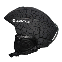 LOCLE Winter Sports Ski Helmet CE Certification Material ABS+EPS Snow Skiing Snowboard Skateboard Helmet 55 61cm