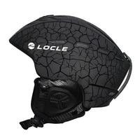 Winter Sports Ski Helmet CE Certification Material ABS+EPS Snow Skiing Snowboard Skateboard Helmet 55 61cm