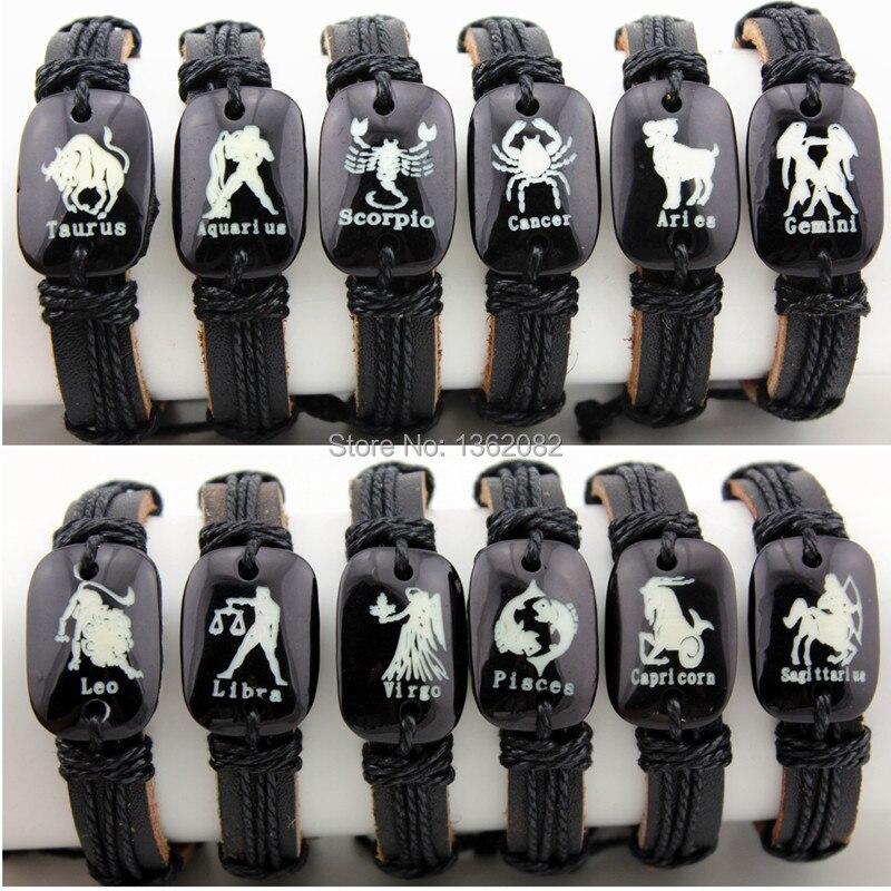 Hemp Leather Bracelet Men...