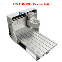 RUSSIA FREE TAX 3020 CNC Frame Of Engraver Engraving Drilling And Milling Machine Without Stepper Motor