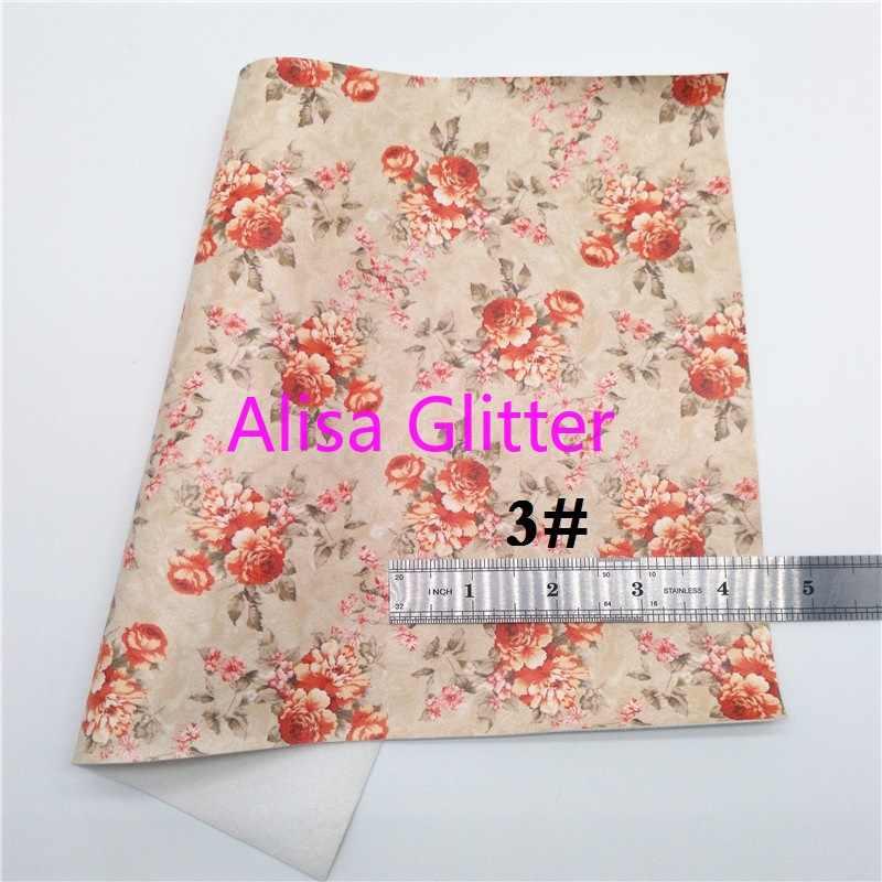 1 CHIẾC A4 KÍCH THƯỚC 21X29 cm Alisa Long Lanh Hoa Hồng Vàng Lấp Lánh Vải Giả Da Chất Liệu Vải hoa Da Tổng Hợp cho Nơ DIY C02F