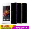 Оригинальный Разблокирована для Sony Xperia M C1905 Сотовый Телефон Dual-core 4.0 ''Сенсорный Android Os 5mp Камерой Gps Wifi бесплатная Доставка двойной SIM