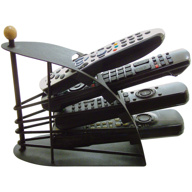 Great Ideas Remote Control Tv Handset Holder Storage Caddy Organiser Holds Up To