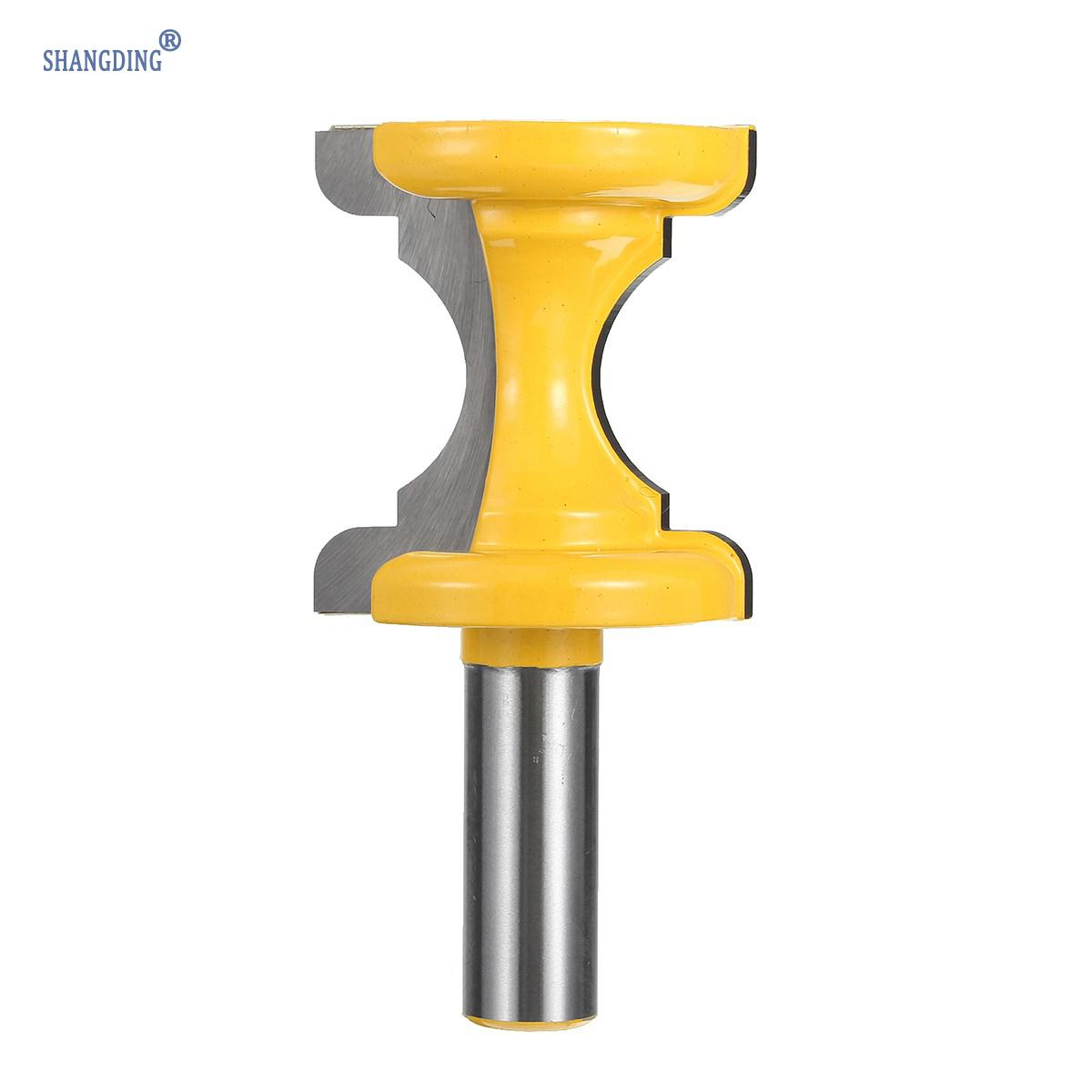 Woodworking Cutting Tool 1PCS 1/2 inch Shank Concave Nose Type 1Bullnose with Bead Column Face Molding Router Bit For Wood 1 2 shank bullnose bead column face molding router bit alloy woodworking cutter for wood milling machines power tool
