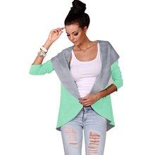 Fashion Women Three Quarter Sleeve Cardigan Knitwear Jacket Coats Thin Overcoat Outwear