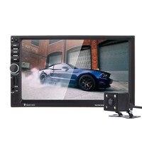 7 inch 2 Din Touch Screen Bluetooth USB/TF/FM DVR/AUX GPS Mp5 Handfree High definition Rear View Camera Car Radio MP5 Player