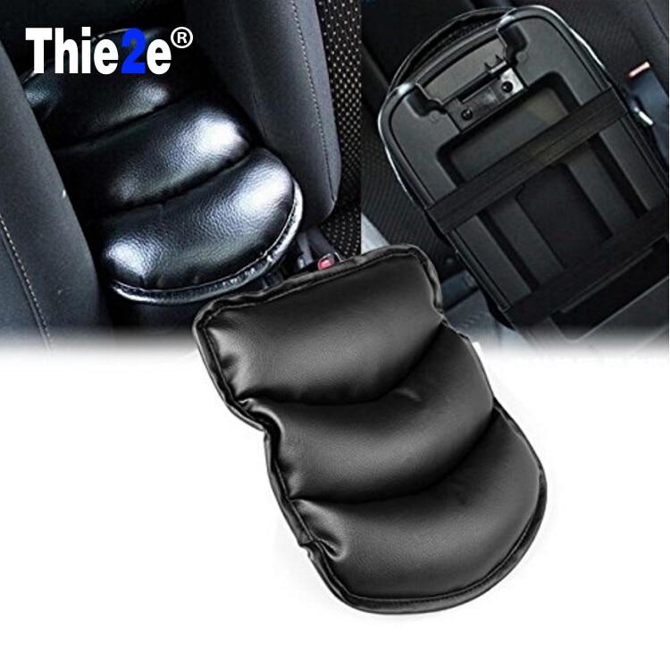 Car Armrests Cover Pad Center Console Arm Rest Seat Pad For Hyundai tucson 2016 i30 ix35 accent elantra i20 santa fe Accessories