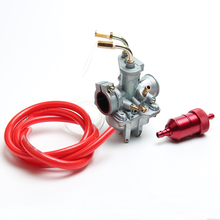 Motorcycle carburetor carb with Oil filter with Gasoline tube Fit for YAMAHA PY50 QT50 PW50 PW 50 dirt bike Free Shipping
