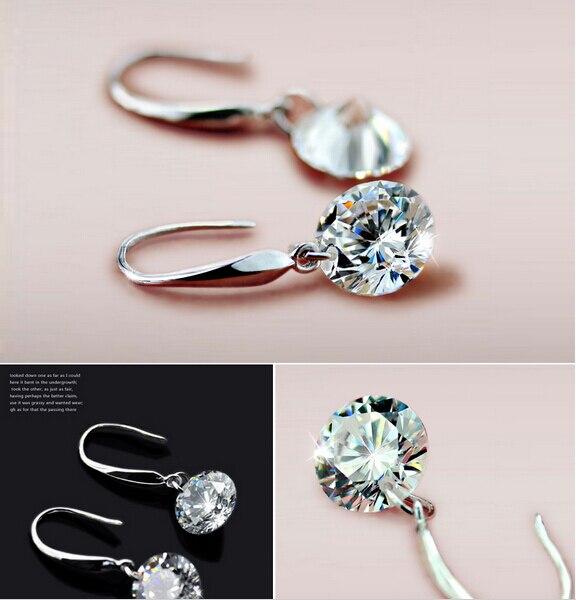 Top Sale Silver Earrings for Women Long Drop Earings Brincos Jewelry Pendientes Wedding Jewelry Accessories