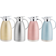 1.8L Stainless Steel Thermos Double Vacuum Insulated Pot Coffee Hotel Special