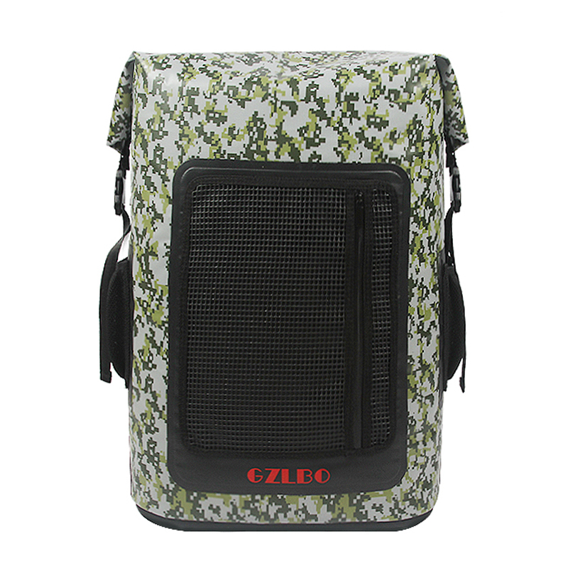 GZLBO 60Cans Large backpack cooler bag PVC Faction camouflage waterproof insulated food delivery beer cooler bag backpack цена 2017
