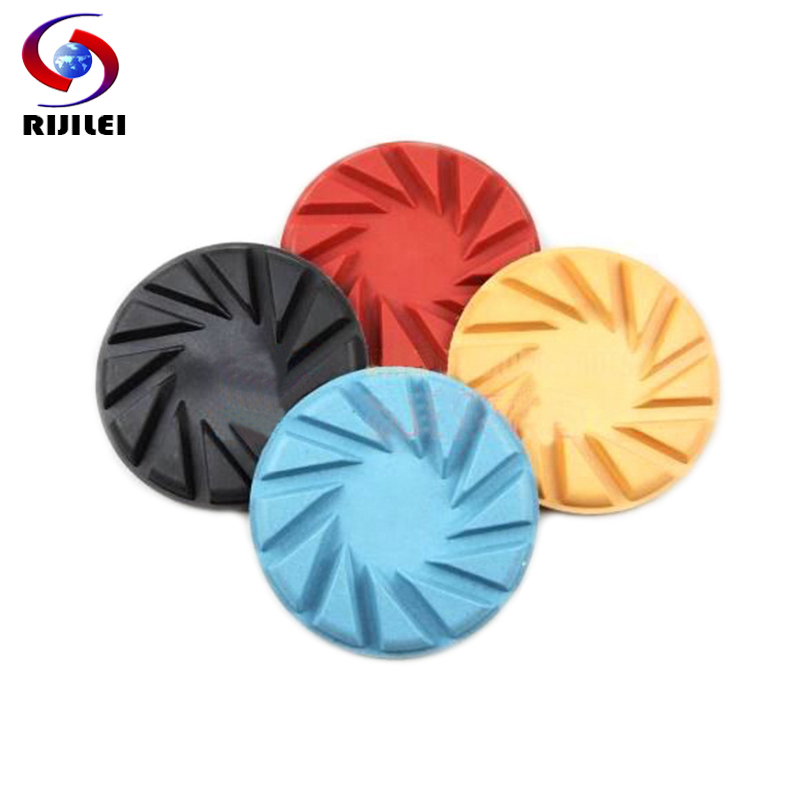 (4FP1-5) 4 Concrete dry polishing pad 100mm Thickness 6mm floor tool, diamond pads
