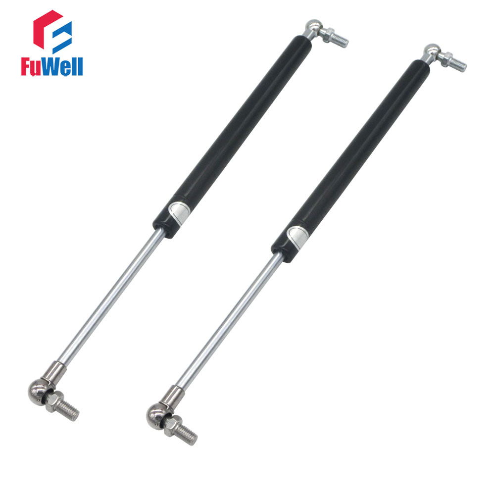 2pcs 460mm Central Distance Gas Spring 160mm Stroke 55KG Force Gas Strut M8 Ball Joint 460mmx160mmx55kg Gas Spring Damper free shipping500mm central distance 200mm stroke 80 to 1000n force pneumatic auto gas spring lift prop gas spring damper