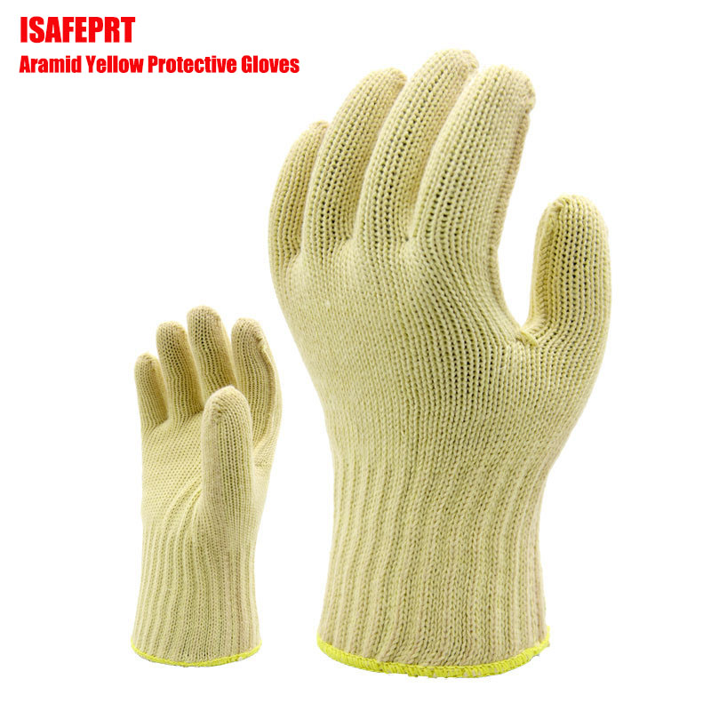New mechanical work against cuts in 2017 aramid knitted gloves gloves to wear torn gloves 5 double/package brutal inhuman behavior against women in bangladesh