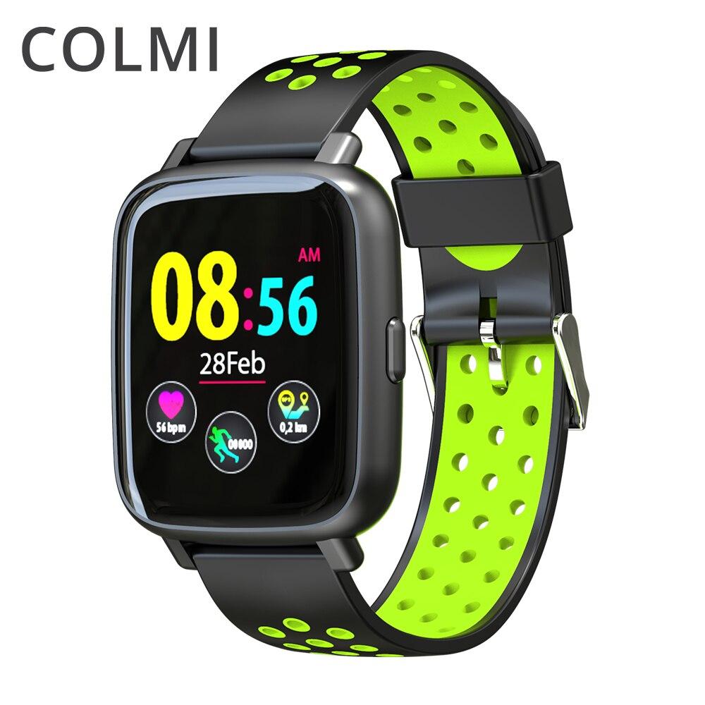 COLMI Смарт-часы монитор сердечного ритма IP68 Водонепроницаемый плавание браслет Bluetooth Спорт часы для Для мужчин Для женщин Smartwatch
