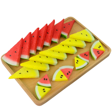 TB040 The simulation of fruit slice piece watermelon model PVC false photograph decorative props toy accessories