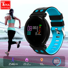 Original K2 Smart Bracelet Watch Blood Pressure Heart Rate Monitor Blood oxygen detection Waterproof Smart Band for smart phone(China)