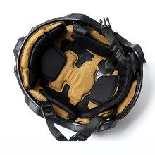 Новинка, шлем, губки, защищенные прокладки, тактические, ударопрочные, защита головы, специальные части, пустыня для шлема MT