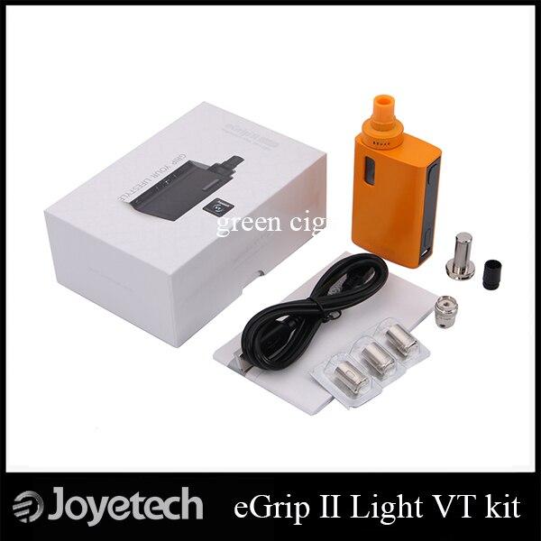 Оригинал Joyetech егрип II Свет VT Все-в-Одном 80 Вт Комплект 2100 мАч Box Mod Жидкостью Vape 3.5 мл Распылитель егрип II Свет
