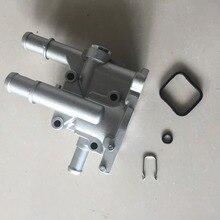 Алюминиевый корпус термостата охлаждения двигателя для Chevrolet Cruze Epica 2007 OEM 71744389 96984103 96817255