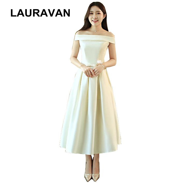 champagne pretty fantasy off the shoulder boat neck   bridesmaid     dress   fitted special occassion party pageant   dresses   for teens