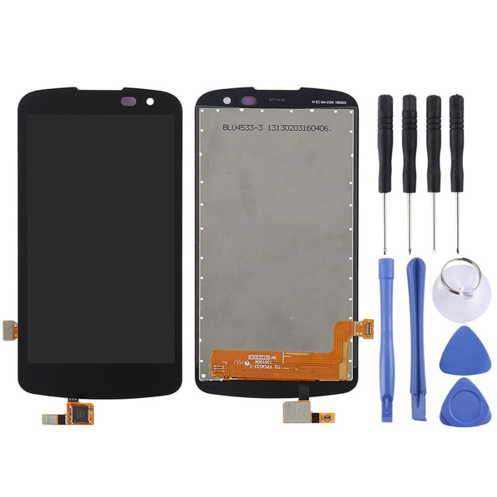 h LCD Screen and Digitizer Full Assembly for <font><b>LG</b></font> K3 2016 K120 <font><b>K100</b></font> LS450 image