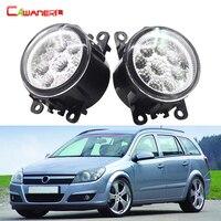 1 Pair Car Styling LED Lamp Fog Light DRL Daytime Running Light 12V For Opel Astra