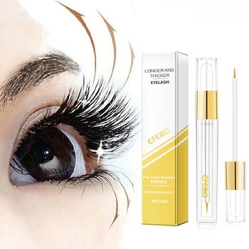 Eyelash Enhancer Serum Eye Lash Growing Essence Oil Eyelashes Growth Serum Eyebrow Natural Longer Thicker Essential Oil Eye Care
