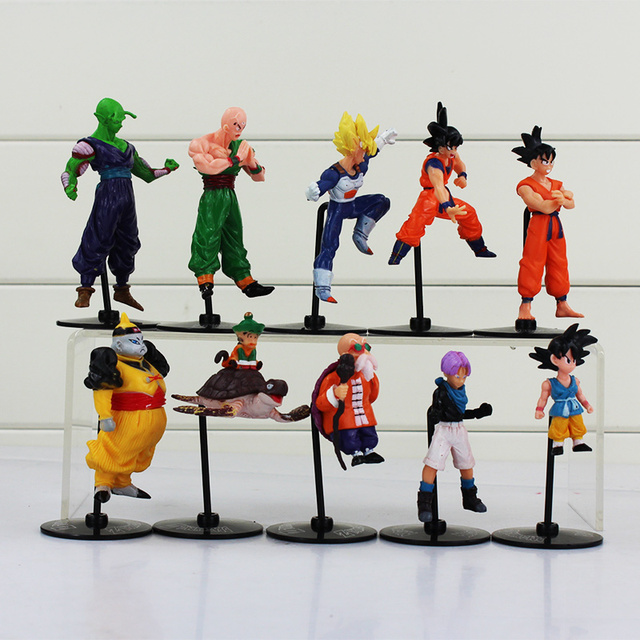 10Pcs Dragon Ball Action Figure