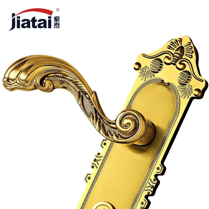 Thai high-end hardware home modern European antique door lock TK245021 gold goldsmith lock on the door  cele goldsmith lalli modern bride® wedding celebrations