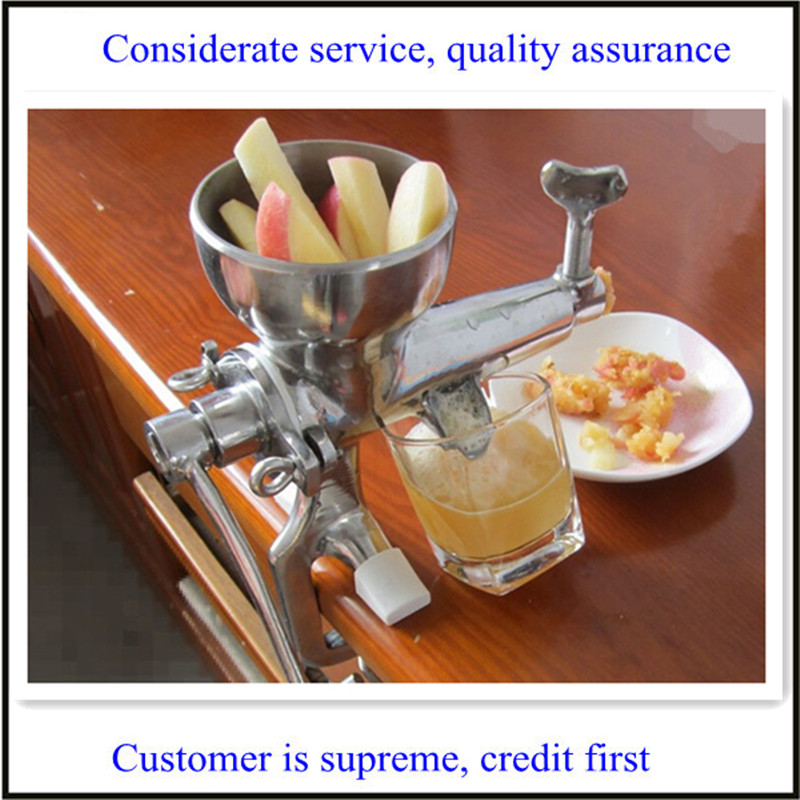 ФОТО hot sale stainless steel manual juicer for fruits and vegetables