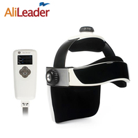 Alileader Vibration Head Massager Health Products Medical Equipment Body Massage Infrared Heat Head Pain Massager Music Function