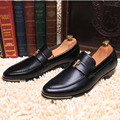 New Italian Style PU Leather Men Dress Shoes Fashion Business Leather Men Oxford Shoes Top Quality Men Wedding Shoes