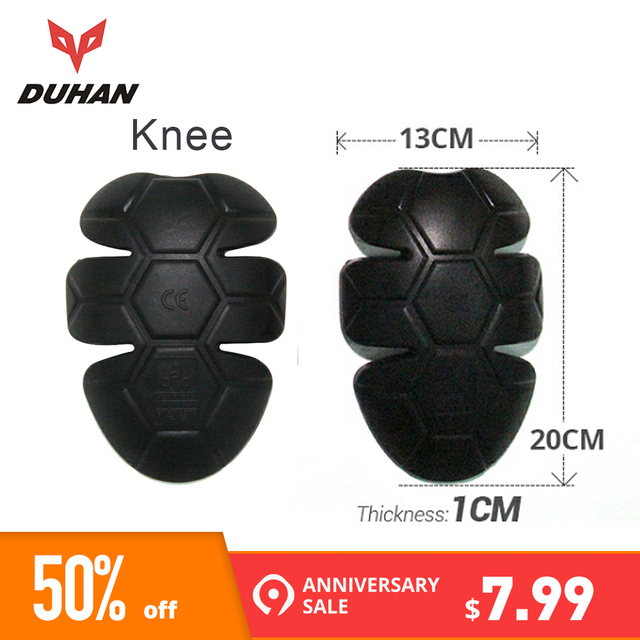 DUHAN Motorcycle Protective Kneepad Racing CE Protector Guard Armor Motocross Elbow Shoulder Back Motorcycle Protective Gear