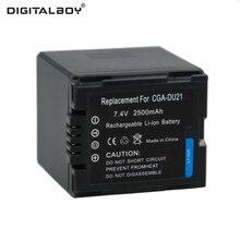 Горячие Продажи 1 шт. CGA-DU21 CGADU21 CGA DU21 7.4 В 2500 мАч Литий-Ионная Батарея Камеры Для Panasonic PANASONIC CGR-DU06 CGA-DU06