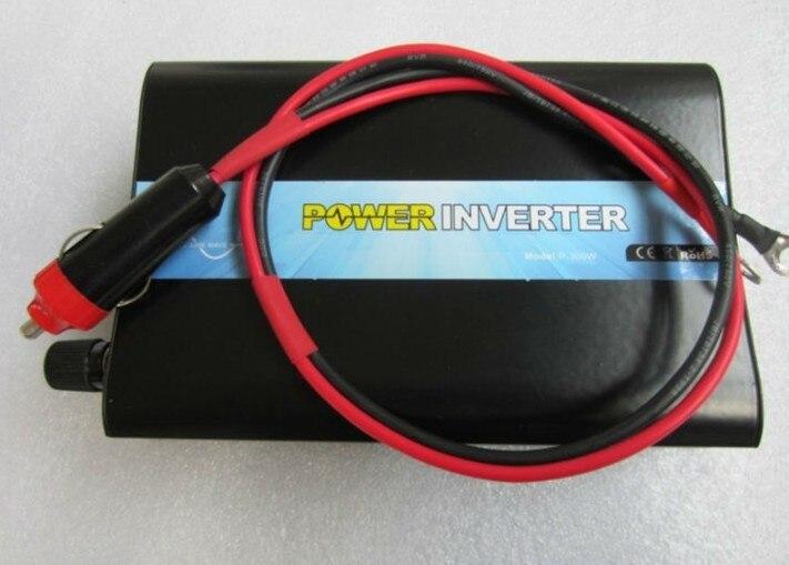 Haute qualité Portable hors réseau simple Phrase DC 12 V 24 V 48 V AC 110 V 220 V 300 W Mobile onduleur