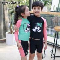 Из двух частей Плавание костюм танкини 2 детей Купальники для малышек Обувь для девочек бикини для Плавание одежда для детей милый Плавание ...