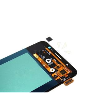 Image 3 - סופר AMOLED לסמסונג גלקסי J7 2016 J710 LCD תצוגת מסך מגע Digitizer החלפת חלקי J710F SM J710F J710FN LCD