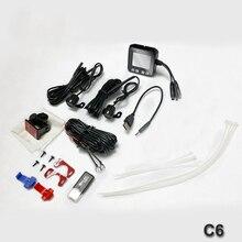 C6 Mini Size 2.0″ Touch Screeen DVR Full HD 720P Waterproof Dual Cameras GPS Car Dash