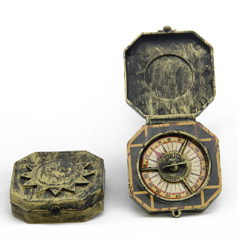Vintage Hallowmas Party Fancy Toy Compass For Pirates Of The Caribbean Johnny