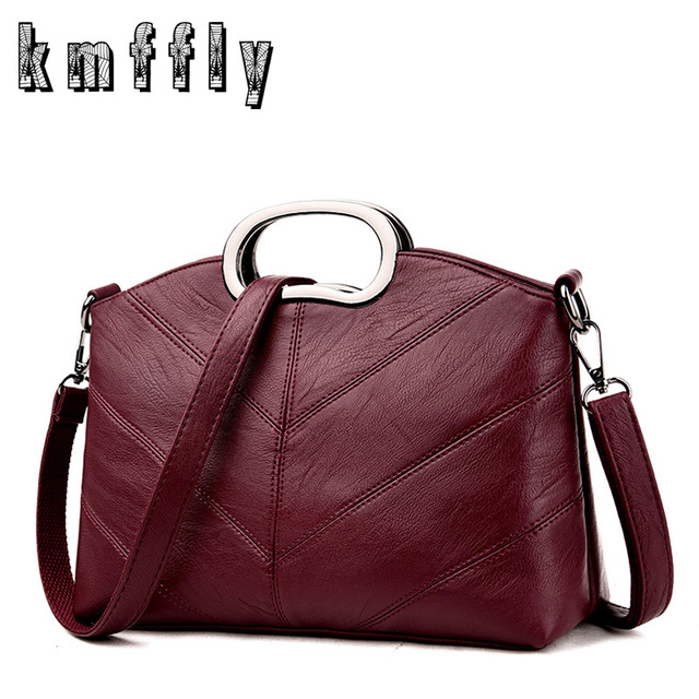 Luxury Women Vintage Plaid Bags Designer Handbags High Quality Leather  Shoulder Bag Ladies Casual Tote Woman 156516afb8af5