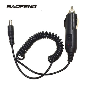 Car+Lighter+Slot+Charger+Cable+For+Baofeng+UV-5R+UV-5RE+5RA+Walkie+Talkie+Charge+Base+12V+DC+Power+Charging+for+Radio+Cord