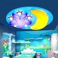 Детские светодиодные потолочные светильники с мультяшным рисунком для мальчиков и девочек  дистанционное управление  освещение для комнат...